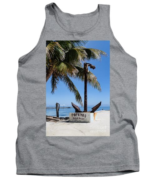 Tank Top featuring the photograph Popeyes by Lawrence Burry