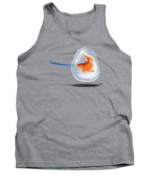 Popper Wordless Tank Top by Rob Snow