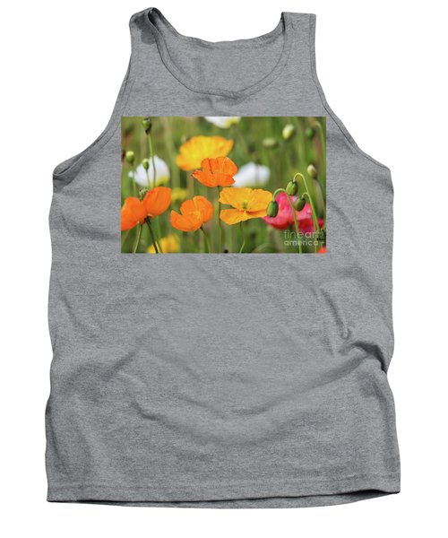 Tank Top featuring the photograph  Poppies 1 by Werner Padarin
