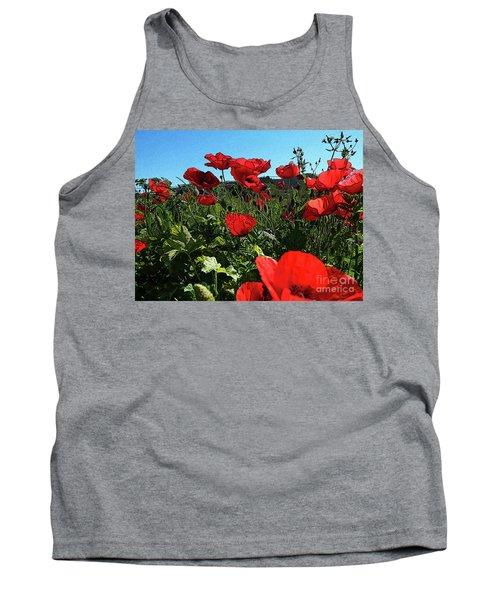 Poppies. Tank Top