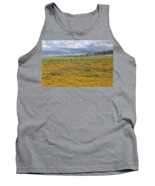 Poppies Field In Antelope Valley Tank Top