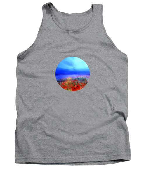 Poppies In The Mist Tank Top