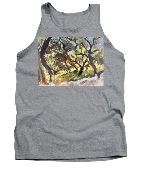 Popping Sunlight Through The Olive Grove Tank Top