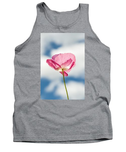 Poppy In The Clouds Tank Top