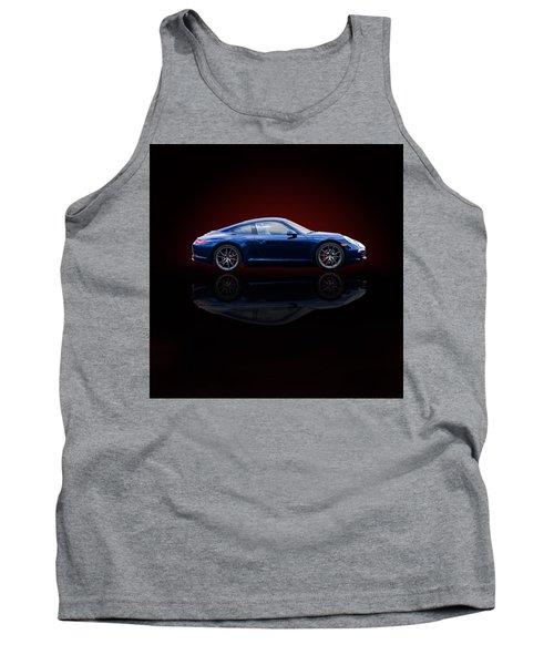 Porsche 911 Carrera - Blue Tank Top