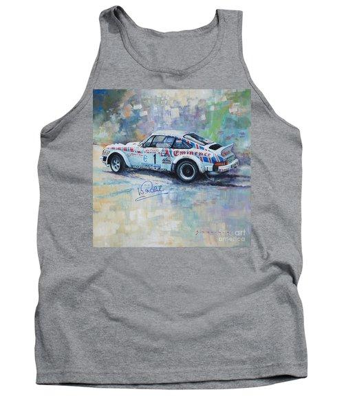 Porsche 911 Sc  Rallye Sanremo 1981 Tank Top