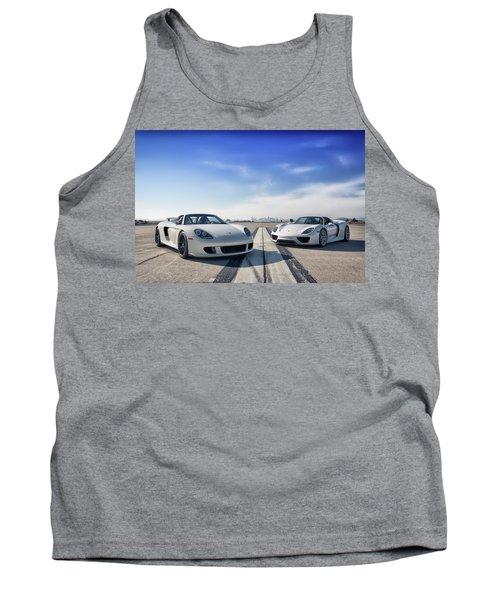 #porsche #carreragt And #918spyder Tank Top
