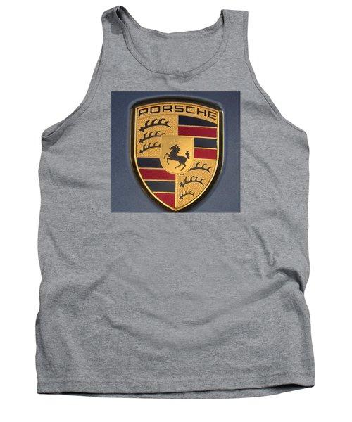 Porsche Emblem Tank Top