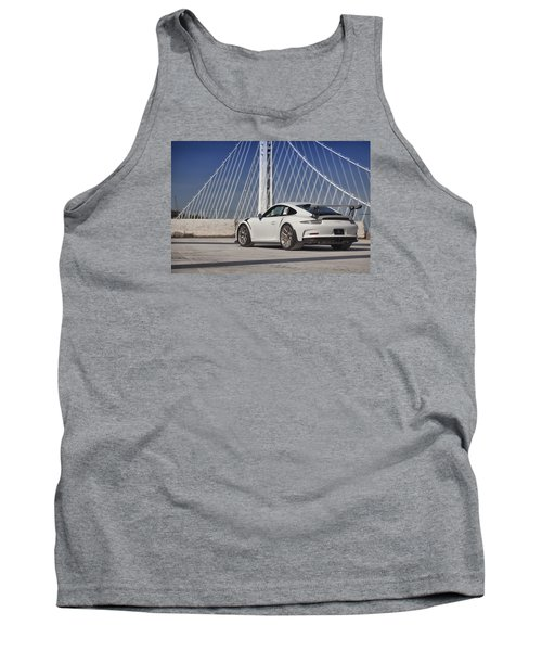 Tank Top featuring the photograph Porsche Gt3rs by ItzKirb Photography