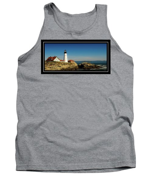 Portland Head Lighthouse 7 Tank Top by Sherman Perry
