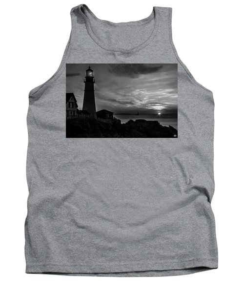 Portland Head Noir Tank Top