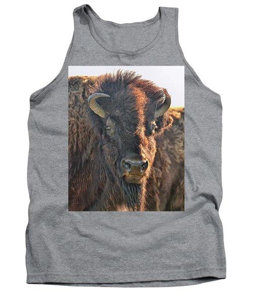 Portrait Of A Buffalo Tank Top