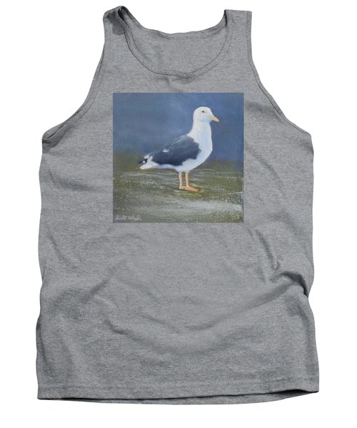 Portrait Of A Seagull Tank Top