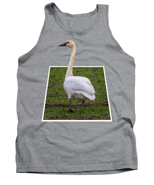 Portrait Of A Swan Out Of Frame Tank Top