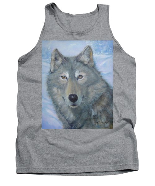 Portrait Of A Wolf Tank Top
