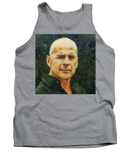 Portrait Of Bruce Willis Tank Top
