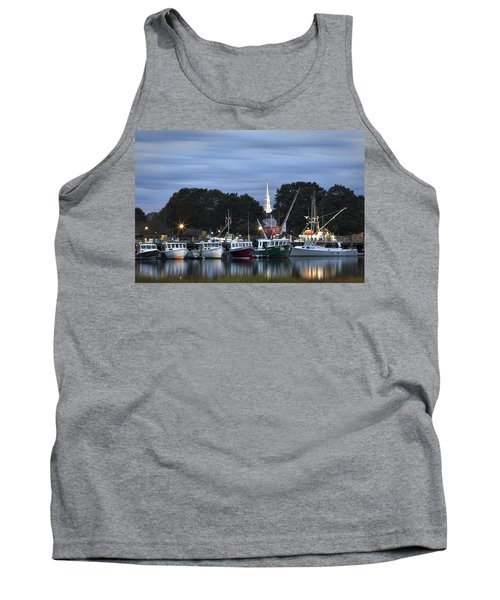 Portsmouth Fish Pier Tank Top