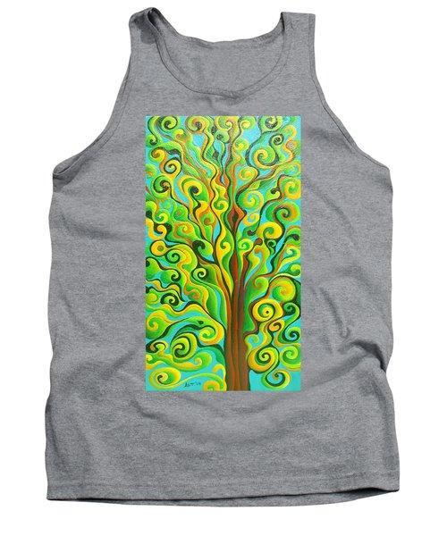 Positronic Spirit Tree Tank Top