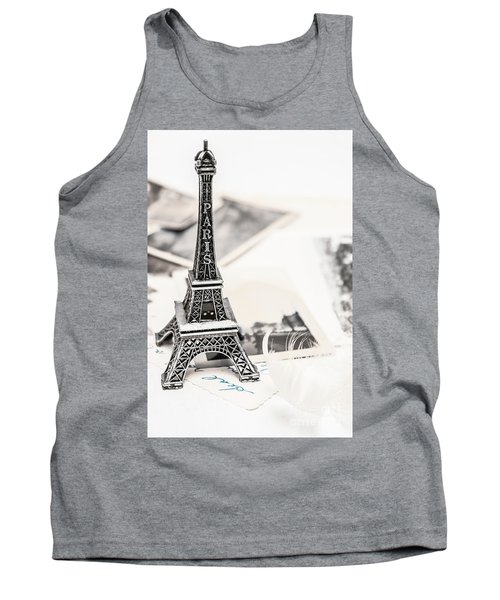 Postcards And Letters From Paris Tank Top