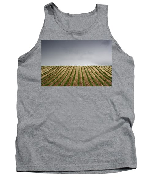 Potato Field Tank Top by John Short