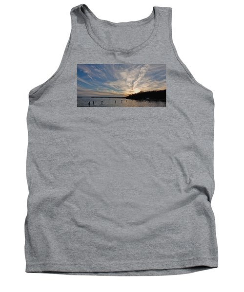 Potomac River Sunset Tank Top