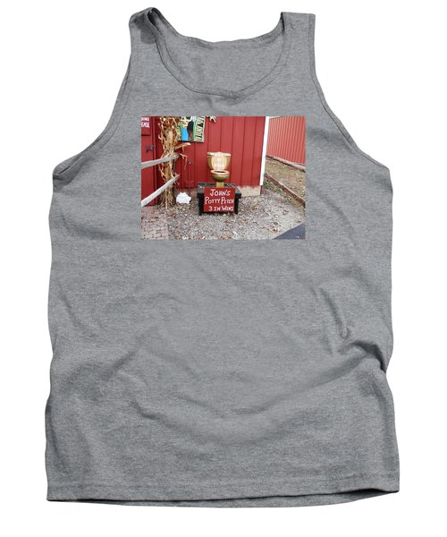 Potty Art Tank Top