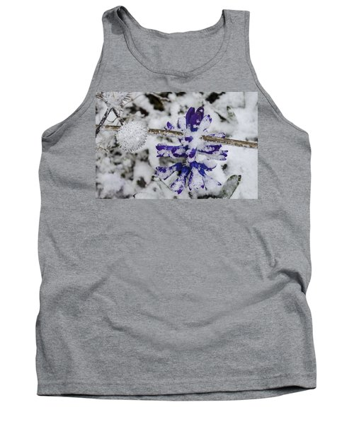 Powder-covered Hyacinth Tank Top