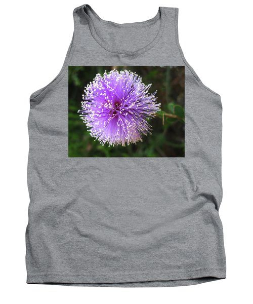 Purple Orb Tank Top by Mary Ellen Frazee