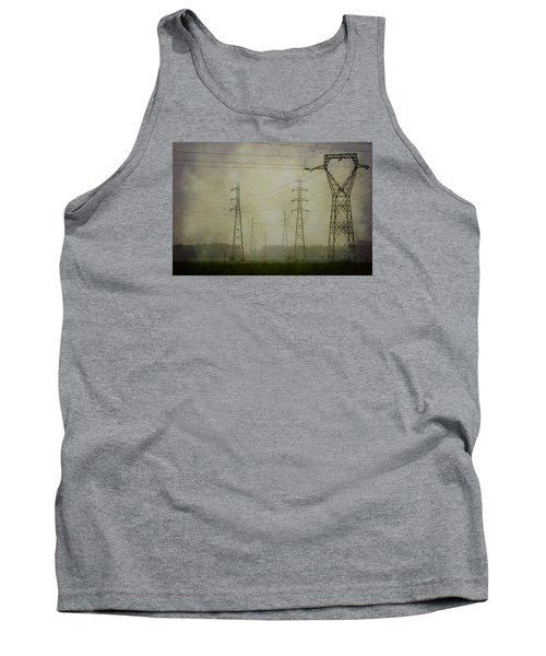 Power 5. Tank Top by Clare Bambers