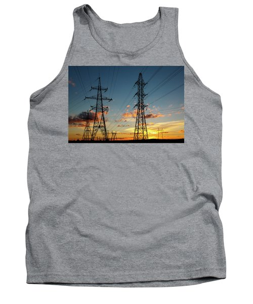 Power Cables Tank Top