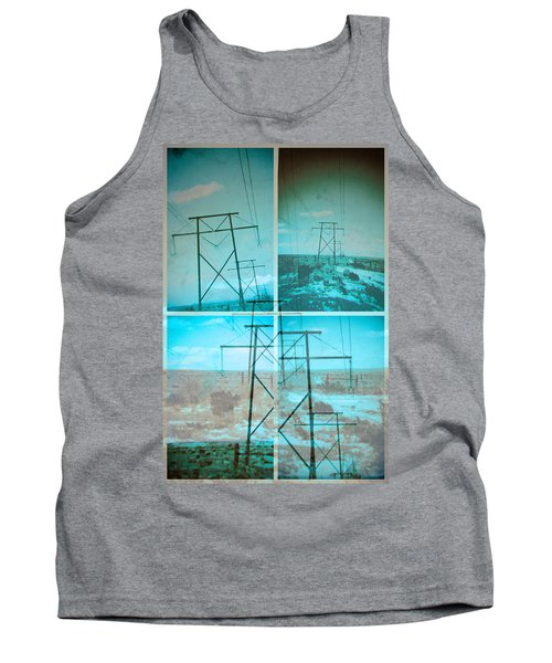 Power Line Patriots Tank Top by Bartz Johnson