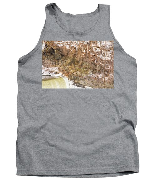 Power Station Falls On Black River Four Tank Top