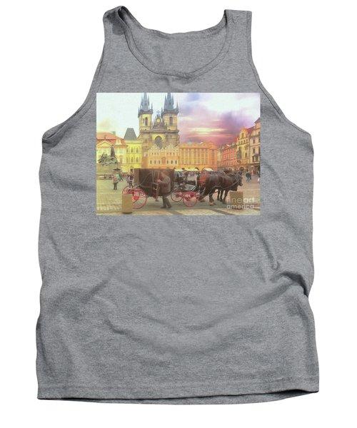 Prague Old Town Square Tank Top