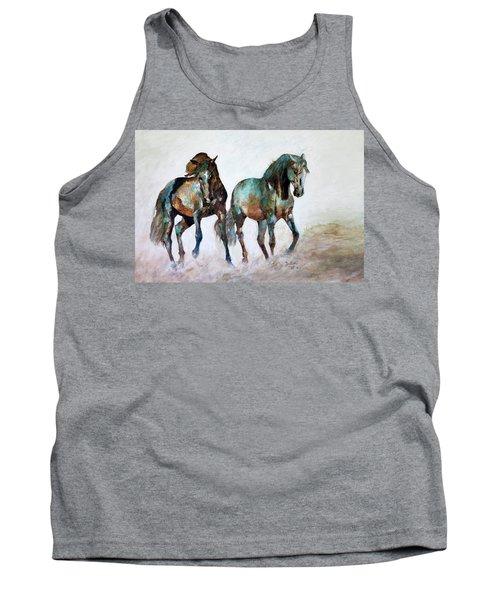 Prairie Horse Dance Tank Top