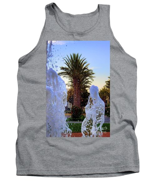 Tank Top featuring the photograph Pregnant Water Fairy by Mariola Bitner