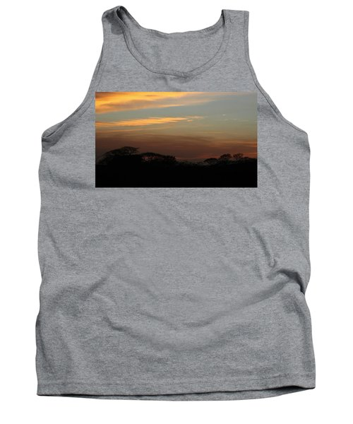 Tank Top featuring the photograph Pretty Pastel Sunset by Ellen O'Reilly
