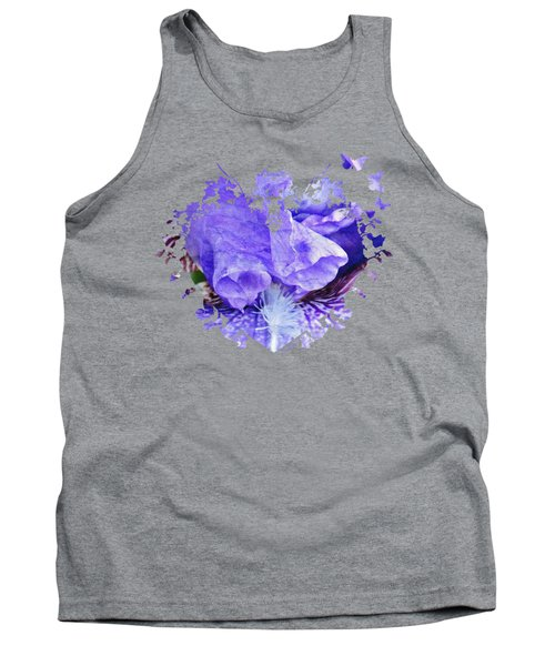 Pretty Purple Tank Top by Anita Faye