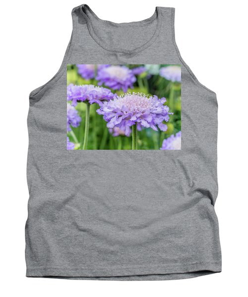 Tank Top featuring the photograph Pretty Purple by Nick Bywater