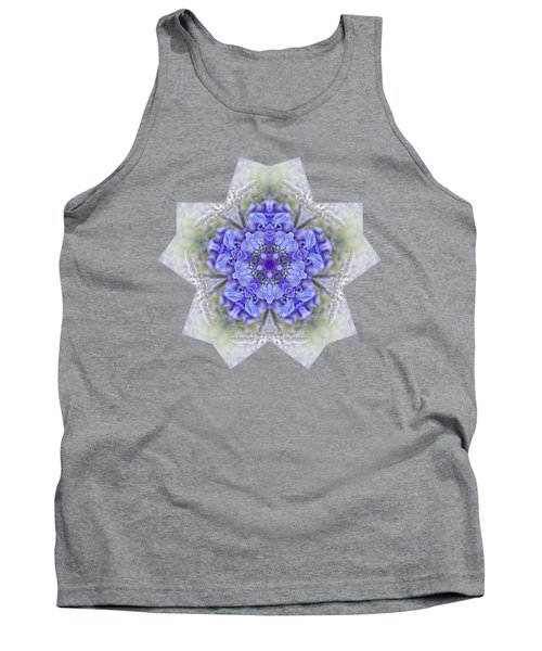 Pretty Wisteria Kaleidoscope By Kaye Menner Tank Top