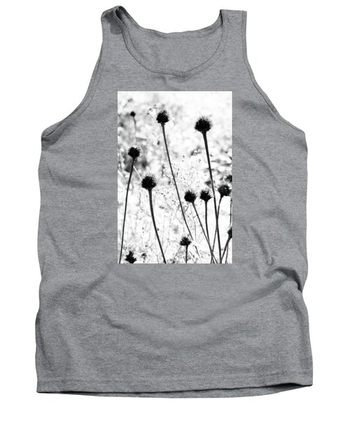 Tank Top featuring the photograph Prickly Buds by Deborah  Crew-Johnson