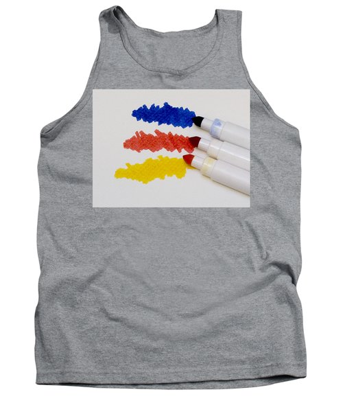 Tank Top featuring the photograph Primary Colors by Marion McCristall