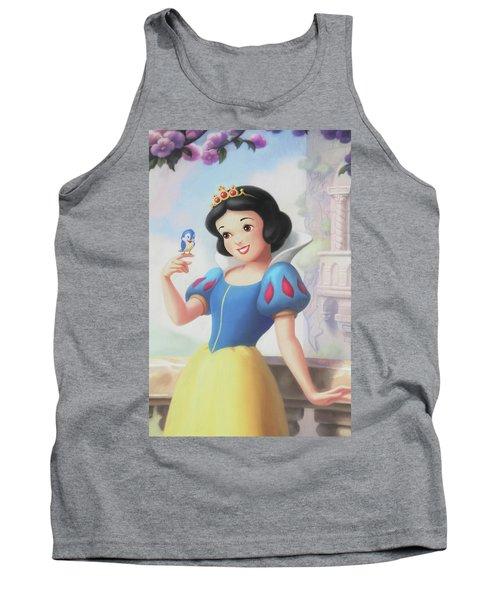 Princess Snow White Tank Top
