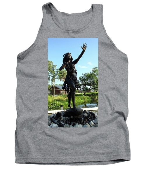 Princess Ulele Statue Tank Top