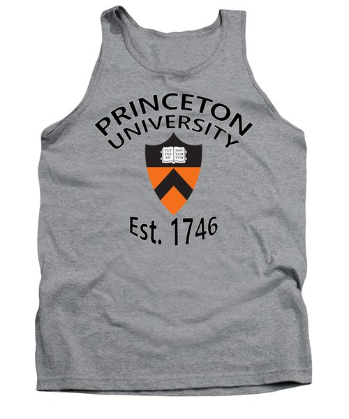 Tank Top featuring the digital art Princeton University Est 1746 by Movie Poster Prints