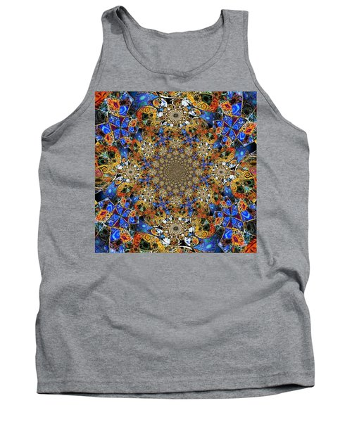 Prismatic Glasswork Tank Top