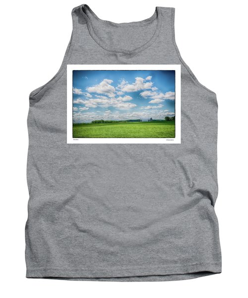 Tank Top featuring the photograph Prison Barn by R Thomas Berner