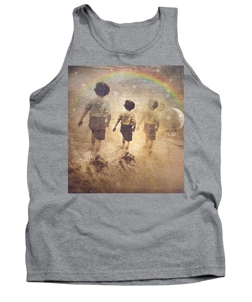 Phases Of The Journey--the Promise Of The Rainbow Tank Top