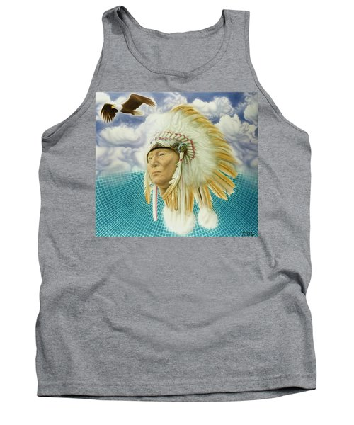 Proud As An Eagle Tank Top