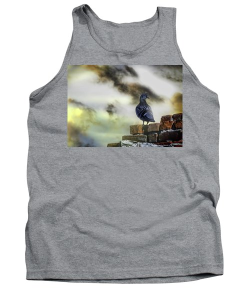 Proud To Be A Pigeon Tank Top