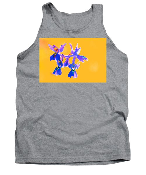 Orange Provence Orchid  Tank Top